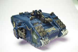 Draconis Chapter Land Raider Redeemer by Atreius-Lux