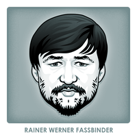 Rainer Werner Fassbinder by monsteroftheid