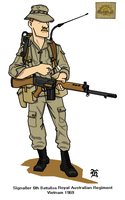 Australian Army Vietnam 1969 by darthpandanl