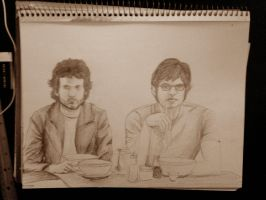 Flight of The Conchords by RuokDbz98