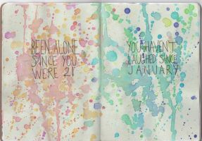 Sketchbook Project page 3 by iTriela