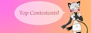 banner 'top contestents' by 329