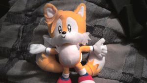 Tails plush toy by sonicfan40