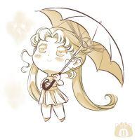 Cute Usagi by unconventionalsenshi