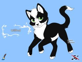 Willfred by puppykittons