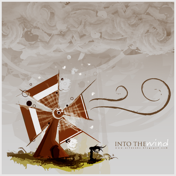 Into the wind.. by NaBHaN
