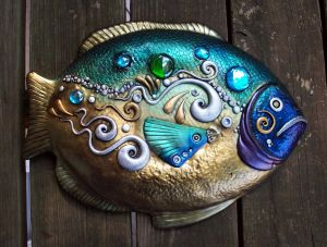 Big Fish Wall Art by MandarinMoon