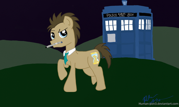 Doctor Whooves by Human-pon3