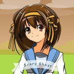 Haruhi - Scary Ghost by uhx