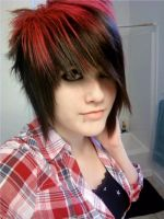 dyed my hair 7-8-10 by EmoSkater4Life