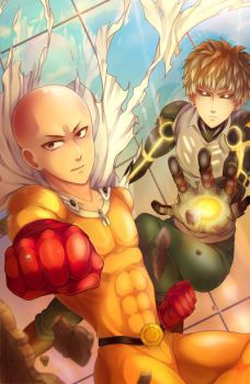 One Punch Man AN poster by arisa-chibara