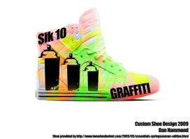 Graffiti Shoe by deejayhamm