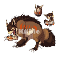 Monster egg 1, Hatched Crunchor by Kiibie-Adopt