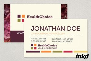 Healthcare Business Card by inkddesign