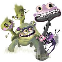 smiling monsters 2 by ciquitta