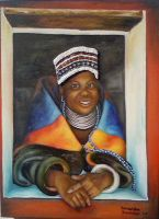 African lady 3 Ndebele by SamanthaJordaan