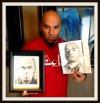 Luis Moncada with Drawing - BREAKING BAD by Doctor-Pencil