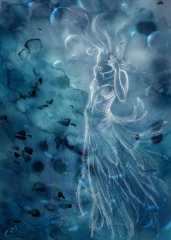 The blue Lady - Magic (oversight) by Agalanthe