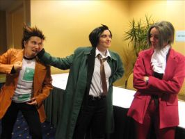 Denied: GumshoexEdgeworth by Bawlsy