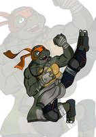 TMNT .:M.I.K.E.Y:. 2014 by Duzz-machine-84