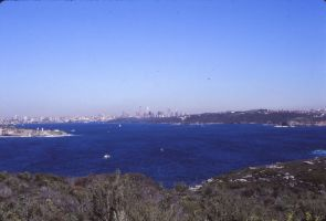Sydney Harbour mid 80's by otherunicorn-stock