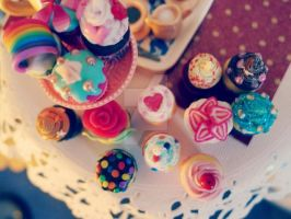 Cupcake Couture 1/6 scale by LittlestSweetShop