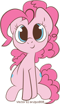 [VECTOR]Adorable Pinkie by aruigus808