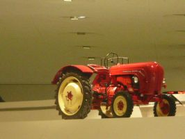 Porsche tractor by ChosenOneFaith