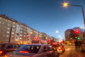 Vallila by night HDR by Jc428