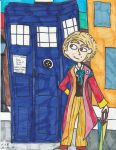 The Sixth Doctor by Millie-the-Cat7