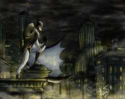 gotham night, not knight by DALBELLO182