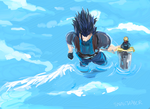 FFVII: those wings... by snailtamer