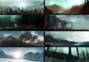 Landscapes. by D--CO