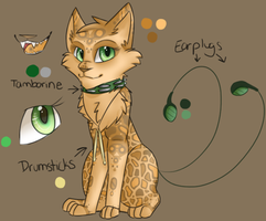 A New Fursona (To Be Updated) by iiDria