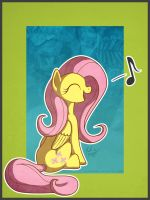 Fluttershy Sings by bigponymac