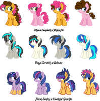 Shipping Foals Set 1 (CLOSED) by Arianstar