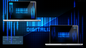 DIGITALIZED Wallpaper pack by Mod-a-holic