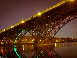 Bridge  Philly by boldsoul