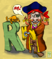 The Pun Pirate by Ohthehumanityplz
