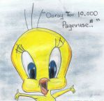 Tweety Bird by Martywolf92