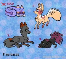 Dog Adoptables! Batch 1 ::OPEN:: by Griffkat