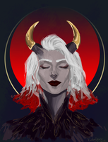 Inquisitor adaar by Phoebelynce