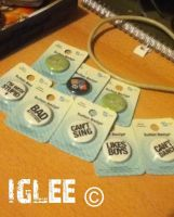 Glee Badges by Iglee