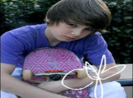 Christian Beadles signed pic by JustinBieberILY