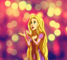 Tangled - Rapunzel by Bonequisha