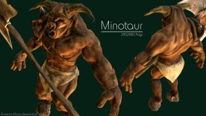 Minotaur - High-Poly by iemersonrosa