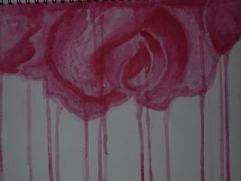 Dripping Rose by LilyOfTheVillage