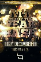 LUL EOY BASH Party Flyer by V1sualPoetry