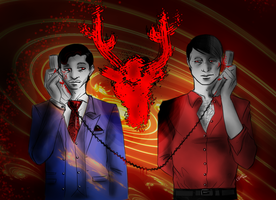 Hannibal - Calling to the killer by FuriarossaAndMimma