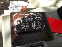APH cake: Allied Forces by Jei-Muffin